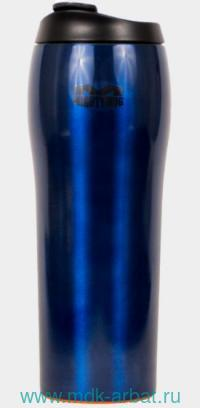 Термос непадающий 530мл«MM Go»голубой Арт.1916