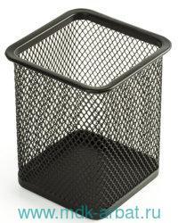 Подставка-органайзер «Germanium» металлическая черная : Арт.231938 (ТМ Brauberg)