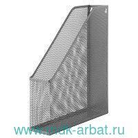 Лоток для бумаг вертикальный «Germanium» металлический серебряный : арт. 231949 (ТМ BRAUBERG)
