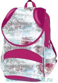 Рюкзак «Летний бриз» липучка-молнния, розовый.  Артикул 17472 (ТМ Target)