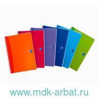 Тетрадь А4 50 листов, в клетку «My Colours» с лин.спираль, в ассортименте : Арт.817832/100101948 (ТМ Oxford)