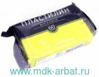 Пластилин восковой 60г., жёлтый : артикул 34-0020/17 (ТМ Bruno Visconti)