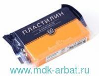 Пластилин восковой 60 г. оранжевый неон : артикул 34-0020/14 (ТМ Bruno Visconti)