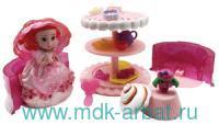 Набор «CupcakeSurprise. Чайная вечеринка» асс. : Арт.1136 (ТМ Emco)
