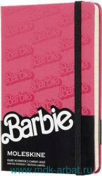 Книга для записей А6 96листов линейка«Barbie.Logo» : арт. 1028521 (ТМ Moleskine)