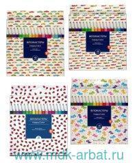 Фломастеры 18 цветов «Happyсolor» картонная коробка : Арт.32-0025 (ТМ Bruno Visconti)