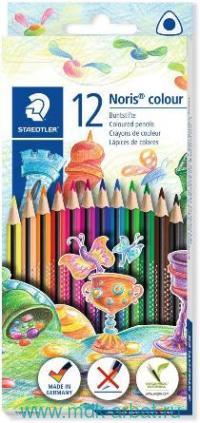 Карандаши 12 цветов «Noris Color» трехгранные : Арт.187 C12 (ТМ Staedtler)