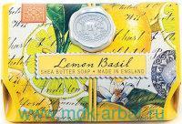 Мыло 246г «Лимон и базилик» в бумажной обертке : арт. SOAL8 (ТМ «Michel Design Works»)