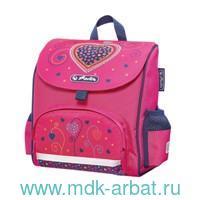 Ранец 24х26х14см «Mini Softbag.Pink Hearts» розовый : Арт.50014088 (ТМ Herlitz)