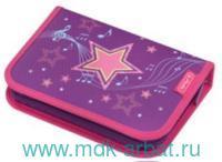 Пенал 20x14x3,5 31 предмет «Melody Star» на молнии : Арт.50014354 (ТМ Herlitz)