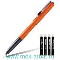 Ручка-кисть«Brush Pen»д/калигр.оранж. Арт.GFKPF-A