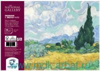 Альбом для зарисовок формата А4, 40 листов плотностью 160 г/м2 «Van Gogh», брошюровка - спираль : арт. 93982130 (ТМ «Royal Talens»)