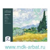 Блокнот для акварели 24х32см 12 листов «Van Gogh» : арт.93972432 (ТМ Royal Talens)