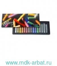 Пастель сухая 15 цветов мягкая круглая картонная коробка : арт.MPA15 (ТМ MUNGYO)