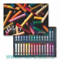 Пастель сухая 30 цветов мягкая круглая картонная коробка : арт. MPA30 (ТМ MUNGYO)