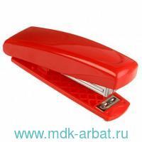 Степлер 24/6 26/6 12 листов «Poket-45C» картонная коробка, красный : Арт.POKET-45C (ТМ Kangaro)