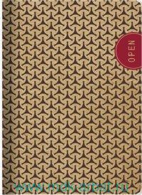 Тетрадь А5 48 листов, клетка «Eco» коричневая, скрепка : Арт.N1184 (ТМ Be Smart )