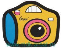 Кошелёк «Фотокамера» на молнии : материал - полиэстер : арт. KW057-000617 (ТМ «Kawaii Factory»)