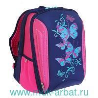 Рюкзак 37х26х18 см «Butterfly» роз.-син. : Арт.K18-732M-2 : ТМ Kite