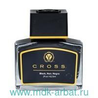 Чернила для перьевой ручки черные 62.5мл стекло : Арт.8945S-2 black (ТМ Cross)