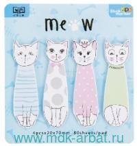 Стикеры «Котики» голубые : Арт.KW044-000698 (ТМ KAWAII factory)
