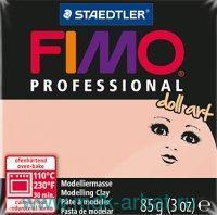 Глина полимерная 85г «Professional» полупрозрачный розовый : арт.8027-432 (ТМ Fimo)
