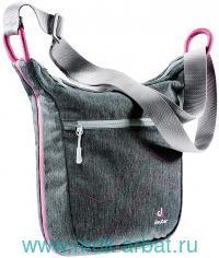 Сумка 29х25х10см «Рannier City» серый, розовый : Арт.85134-7511 (ТМ Deuter)