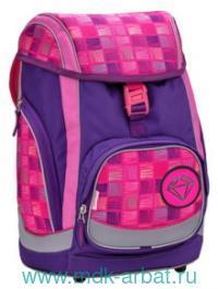 Рюкзак 43х26х23 «Pink&PurpleHarmony» с аппликациями. Артикул 405-11/683 pink&purple harmony (ТМ Belmil)
