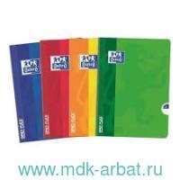Тетрадь А5, 60 листов в линейку «Open flex» обложка - пластик, на скрепке, в ассортименте : арт. 400026713 (ТМ Oxford)