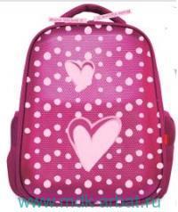 Рюкзак «Сердце» розовый : Арт. 12-001/06 (ТМ Bruno Visconti)