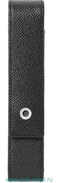 Чеход для одной ручки, стандартный «EPSOM» кожа, черный : арт.118841 (ТМ Graf von Faber Castell)