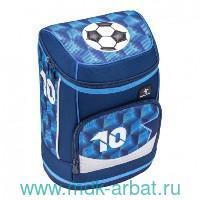 Ранец 36х24х17см «Football» синий : Арт.405-43/6S8 (ТМ Belmil)