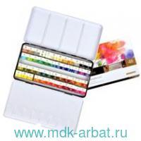 Краски акварельные 48цветиов «Professional» металлическая коробка : арт.MWPH48