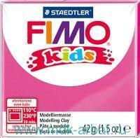 Глина полимерная 42г «Fimo Kids», розовый : арт.8030-220 (ТМ Fimo)