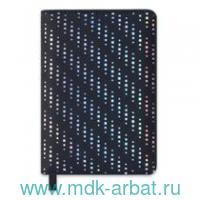 Ежедневник недатированный А6 160листов «Блеск» черный : арт.47591 (ТМ Escalada)