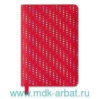 Ежедневник недатированный А6 160 листов «Блеск» красный : Арт.47593 (ТМ Escalada)
