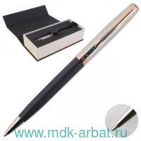 Ручка шариковая чёрная «Sonnet Stratum SE18 K541, Grey PGT» : Арт.2054829 (ТМ Parker)