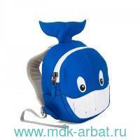 Рюкзак детский «Willi Whale» синий : Арт.AFZ-FAS-002-015 (ТМ Affenzahn)