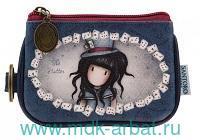 Кошелек «The Hatter» с кольцом для ключей : арт. 340GJ18 (ТМ «Santoro»)