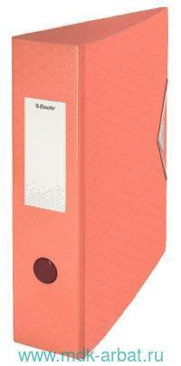 Папка-регистратор А4 75мм «Colour'Ice» абрикосовый : арт.626216/908370 (ТМ Esselte)