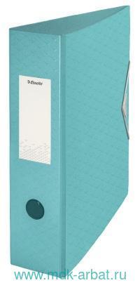Папка-регистратор А4 75мм «Colour'Ice» голубая : арт.626217/908381 (ТМ Esselte)