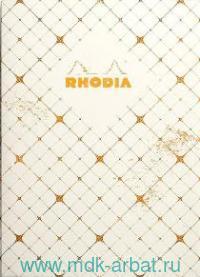 Книга для записей А5 32л.клетка «Heritage quadrille ivory» : Арт.117274 (ТМ RHODIA)