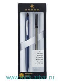 Ручка шариковая Click + гелевый стержень, блистер, цвет синий : Арт.AT0622S-121 (ТМ Cross)