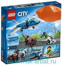 Конструктор «Lego City. Воздушная полиция. Арест парашютиста» : арт. 60208 (ТМ Lego)