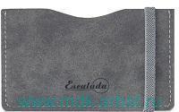 Чехол для пластиковых карт: размер 65х108мм, материал - кожезаменитель, цвет - черный : арт. 48391 (ТМ «Escalada»)