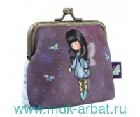 Кошелек «Bubble Fairy» : размер 10х10х4.5см на защелке : арт. 244GJ21 (ТМ «Santoro»)