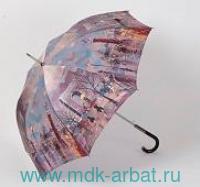 Зонт-трость женский«Zest»автомат сатин Арт.81644-ZS003A