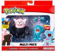 Фигурки «Боевые покемоны» 3 шт, картонная коробка : Арт.36599 (ТМ Pokemon)