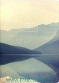 Тетрадь 48 листов клетка «Nature озеро» скрепка : Арт.N1467