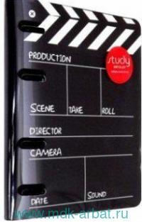 Папка  для сменного блока А5 «Movie» на кольцах : Арт.N1702